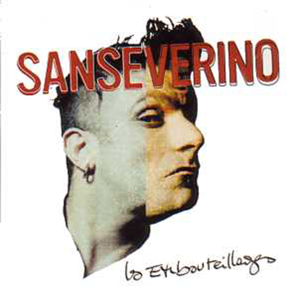 SANSEVERINO - Les embouteillages 2 tracks CARD SLEEVE - CD single