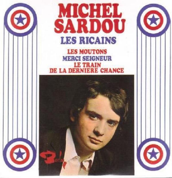 Michel SARDOU - Les Ricains 4-track Card Sleeve - Edition Limitée -