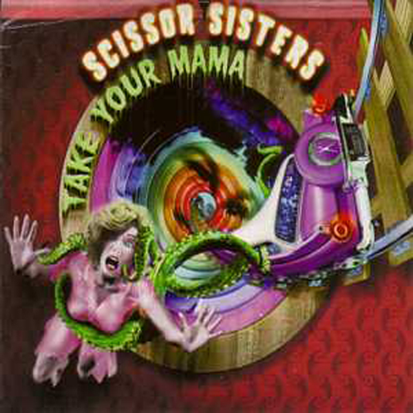 SCISSOR SISTERS - Take your mama Spanish promo 1-track CARD SLEEVE - CD single