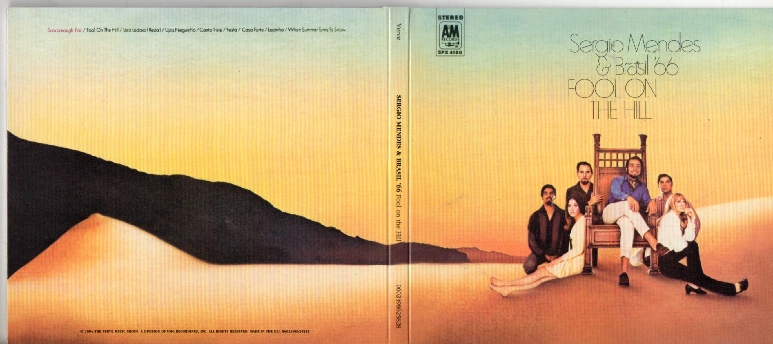 S?RGIO MENDES & BRASIL '66 - Fool On The Hill - Digipack - CD