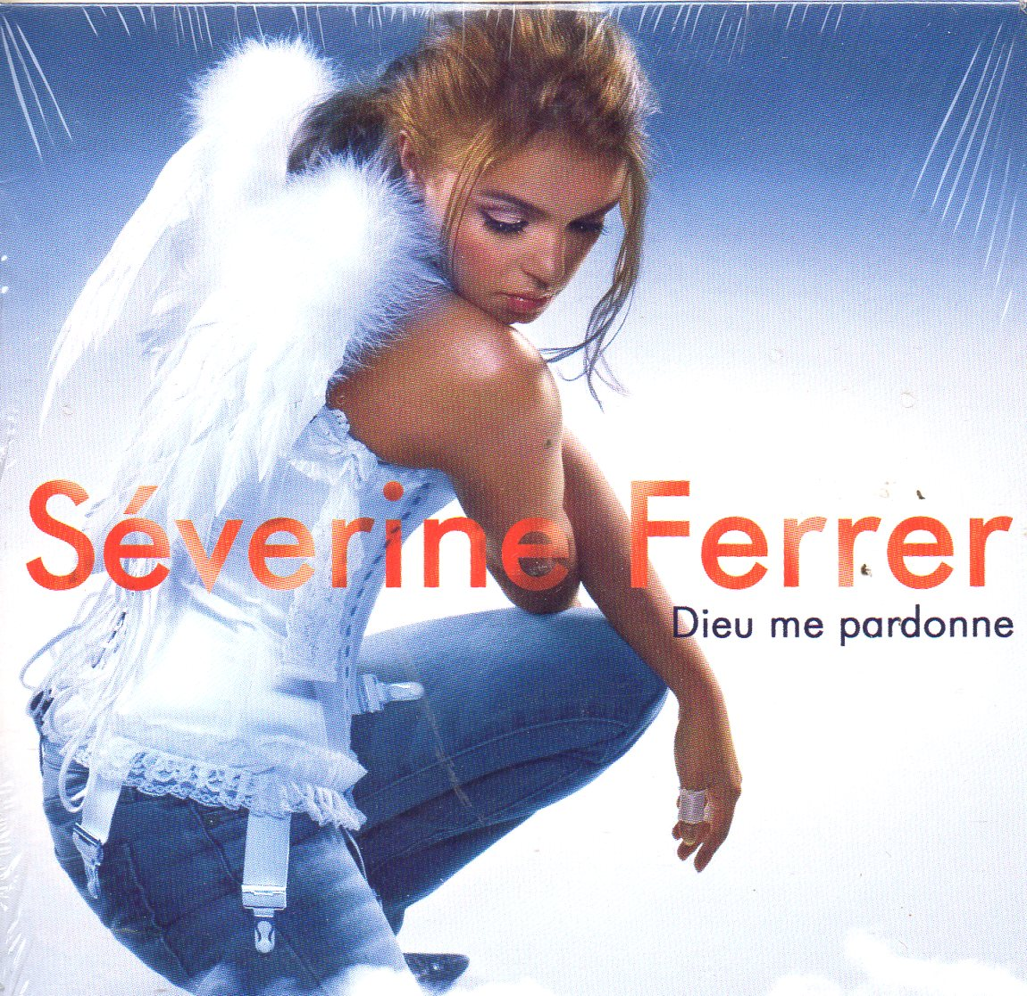 SÉVERINE FERRER - Dieu me pardonne 2-track CARD SLEEVE - CD single