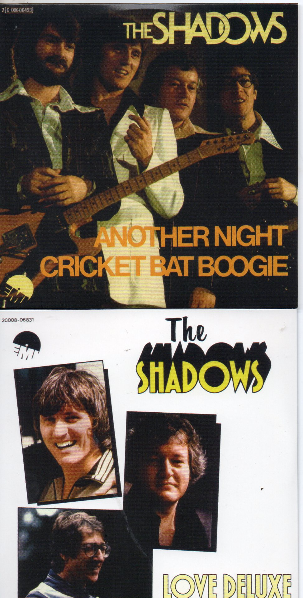 THE SHADOWS - Another Night 4-track CARD SLEEVE - CD single