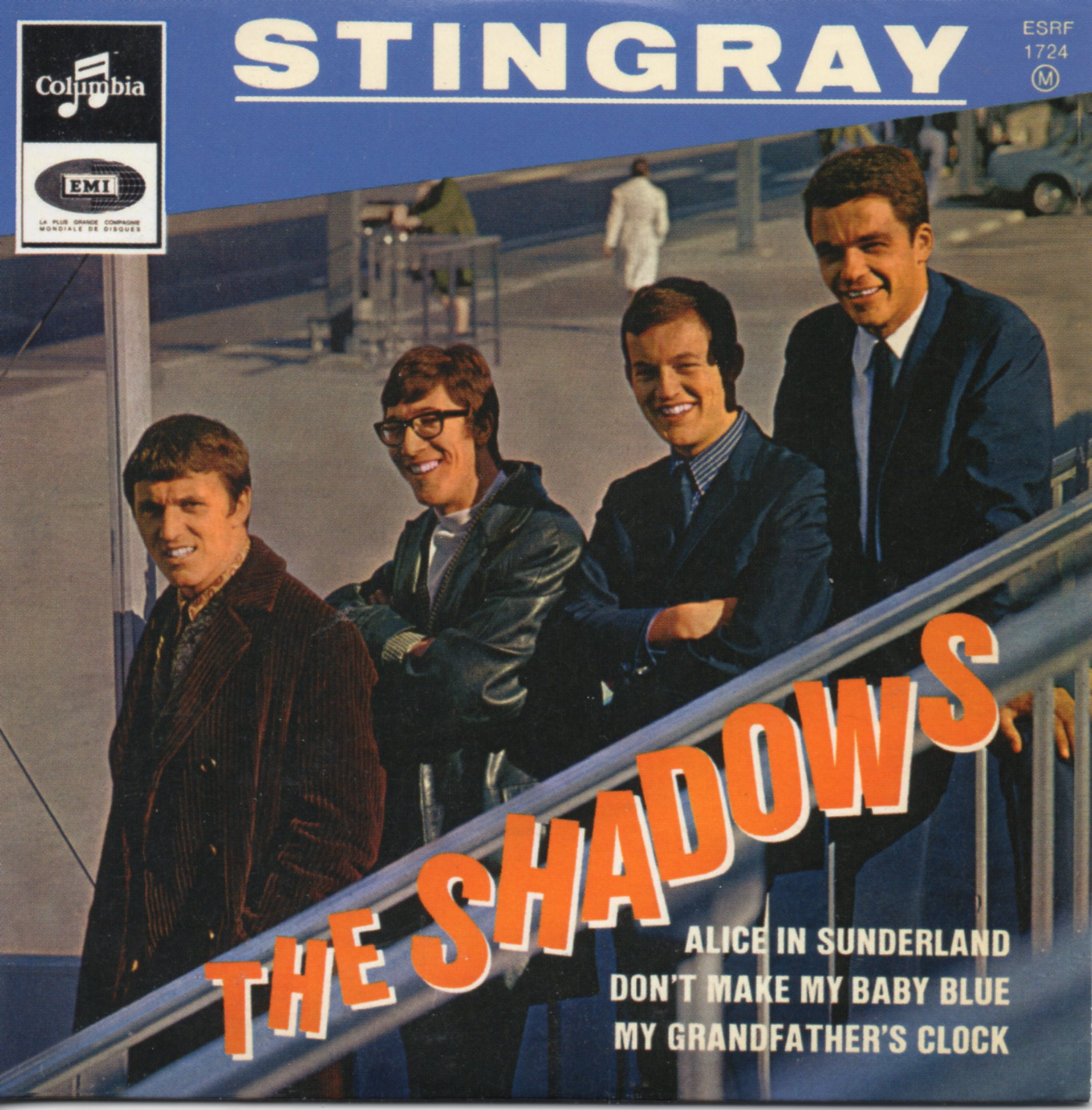 THE SHADOWS - Stingray - EP REPLICA - 4-track CARD SLEEVE - CD single