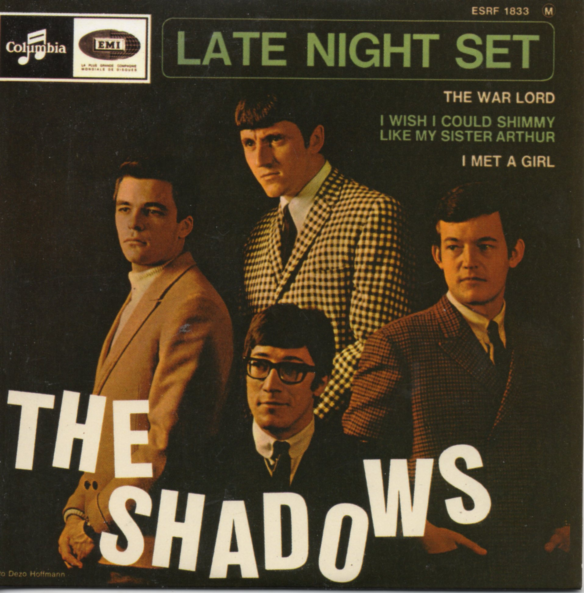 THE SHADOWS - Late Night Set - EP REPLICA - 4-track CARD SLEEVE - CD single