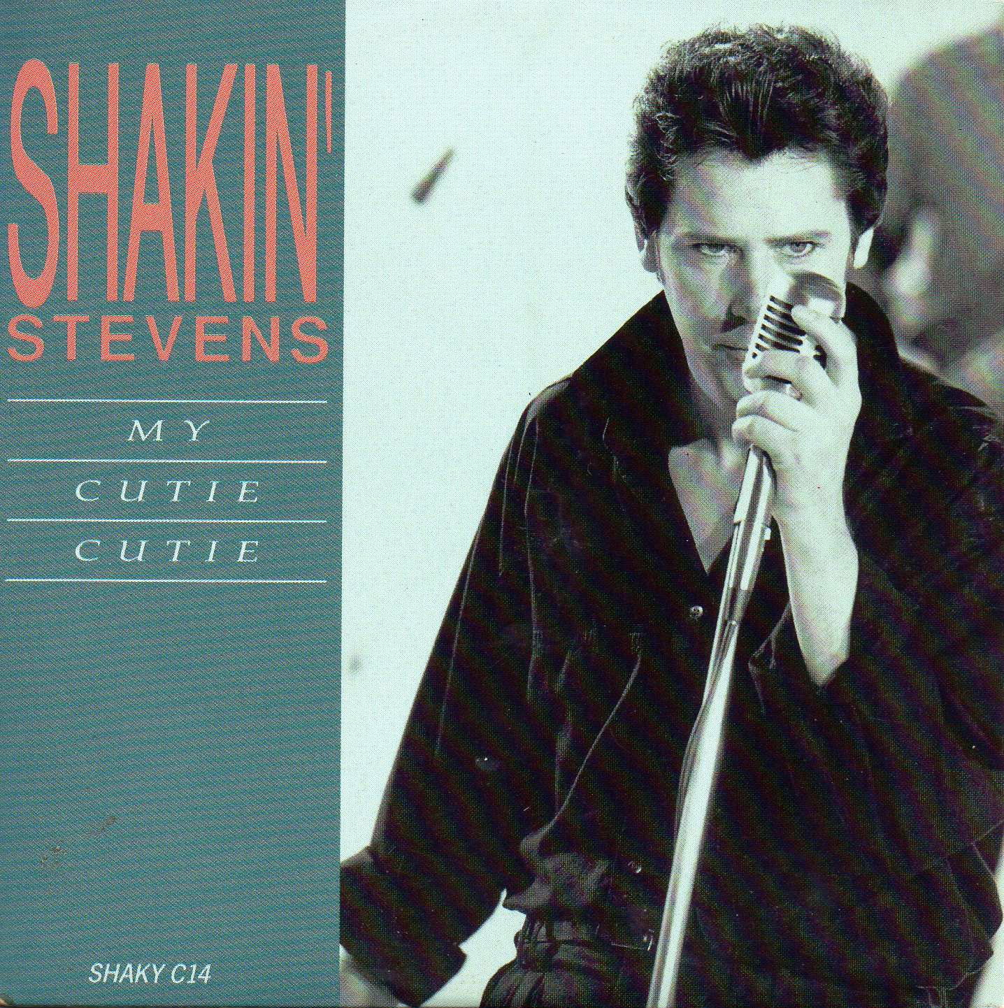 SHAKIN' STEVENS - My cutie cutie 2-track CARD SLEEVE - CD single