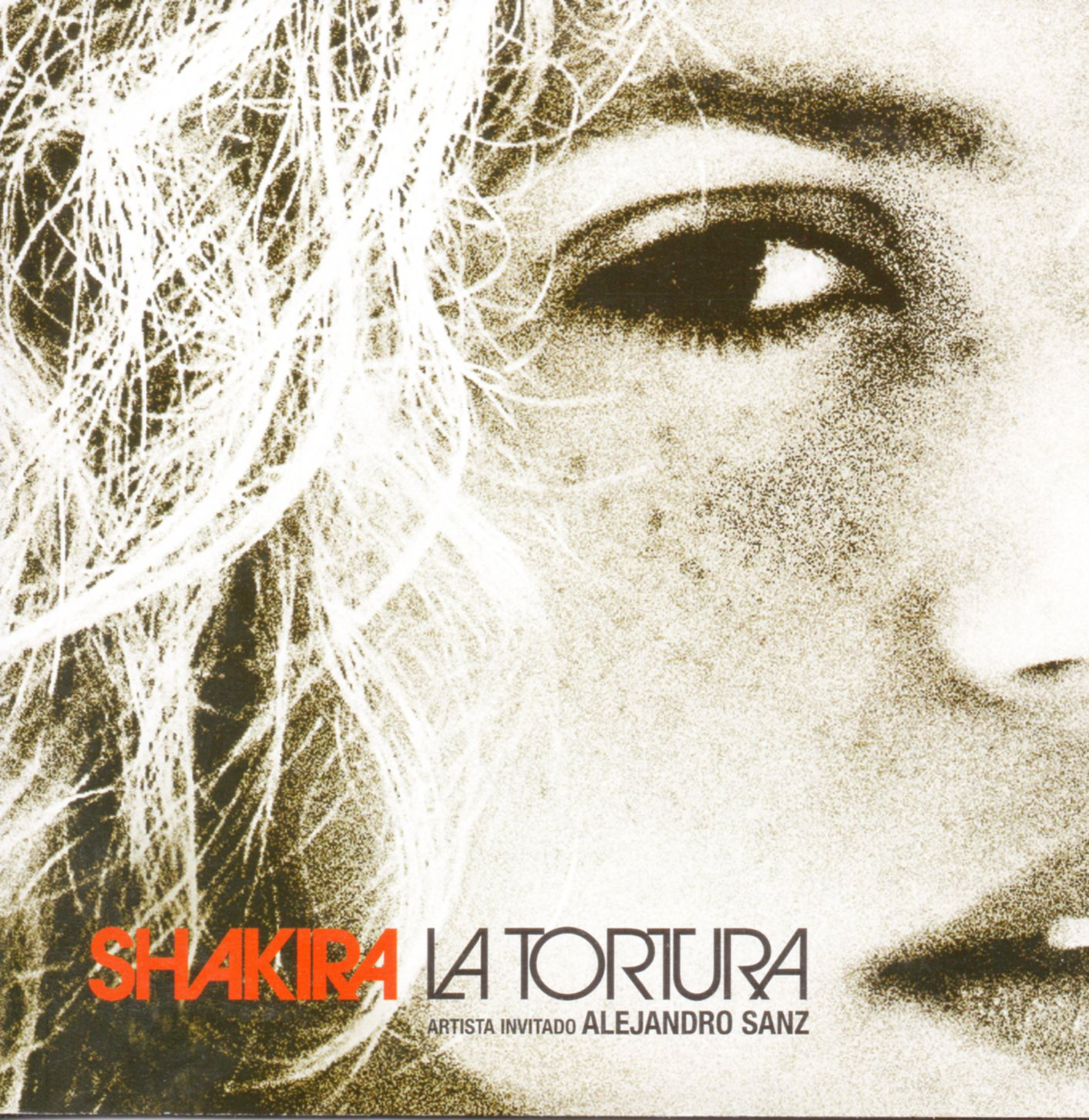 SHAKIRA FEAT ALEJANDRO SANZ - La tortura 2-track CARD SLEEVE - CD single