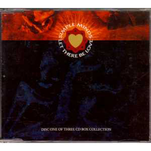 SIMPLE MINDS - Let There Be Love 4-track Jewel Case