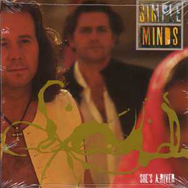 SIMPLE MINDS - She's A River Card Sleeve 2-track