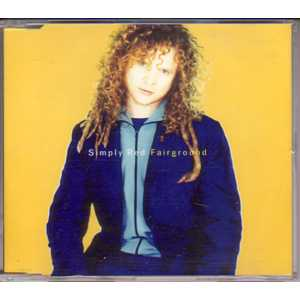 SIMPLY RED - Fairground Promo 2 Tracks Jewel Case