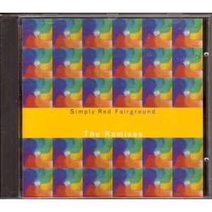 SIMPLY RED - Fairground The Remixes 5 Tracks Jewel Case