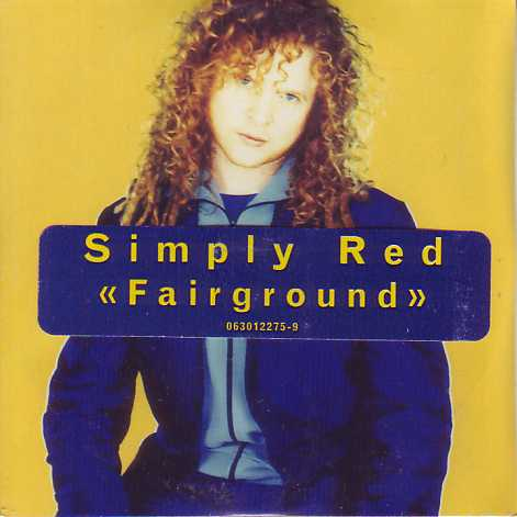 SIMPLY RED - Fairground 2-track Card Sleeve