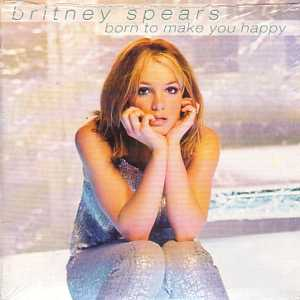 BRITNEY SPEARS - Born to make you happy 2-Track CARD SLEEVE - Taken from the singles collection - - CD single