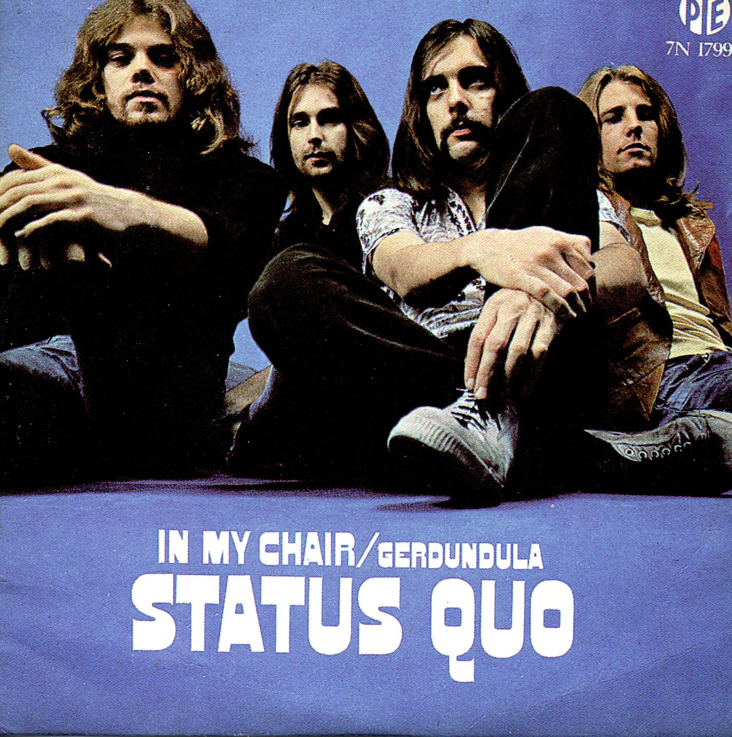 STATUS QUO - In My Chair 2-track CARD SLEEVE - CD single