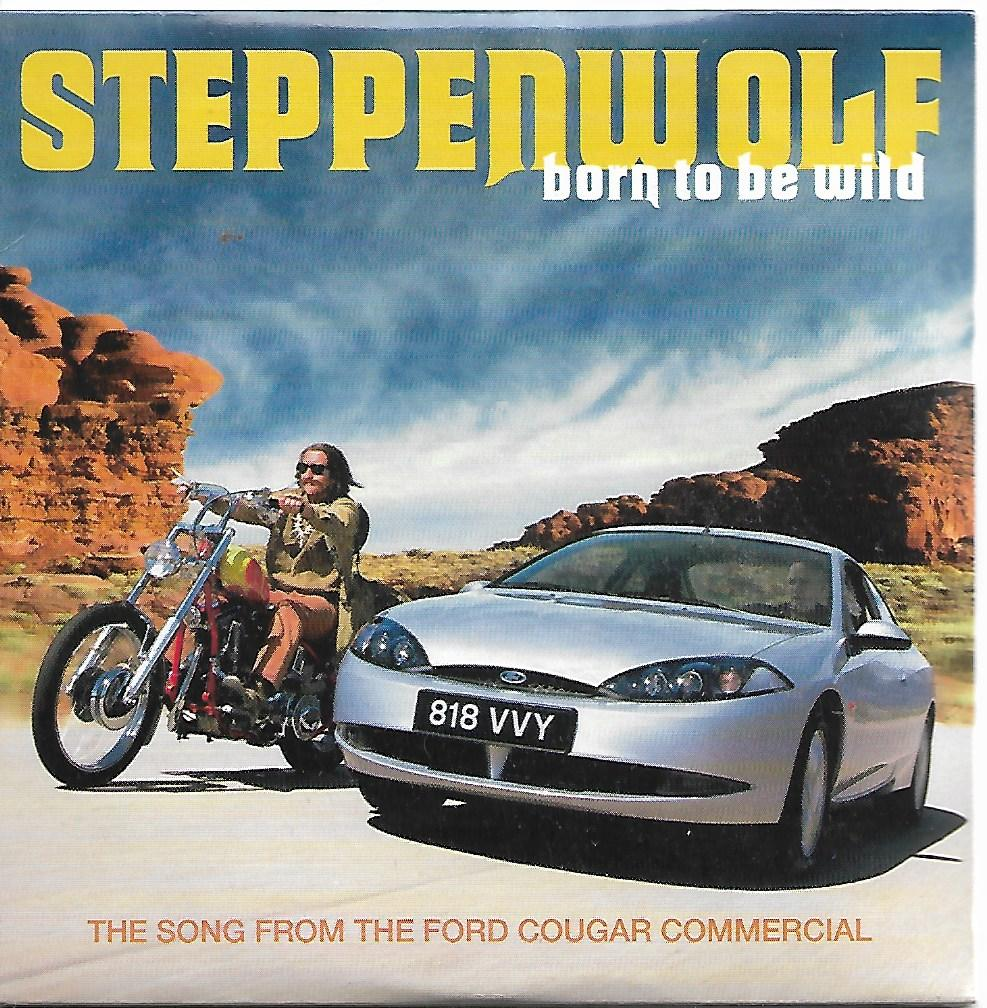 STEPPENWOLF - Born to be wild 3-Track CARD SLEEVE - CD single