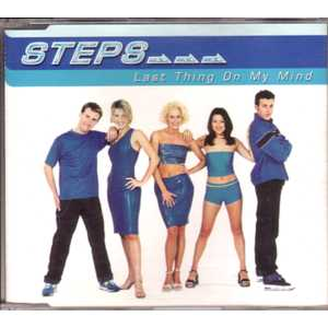 STEPS - Last Thing On My Mind 4 Tracks Jewel Case