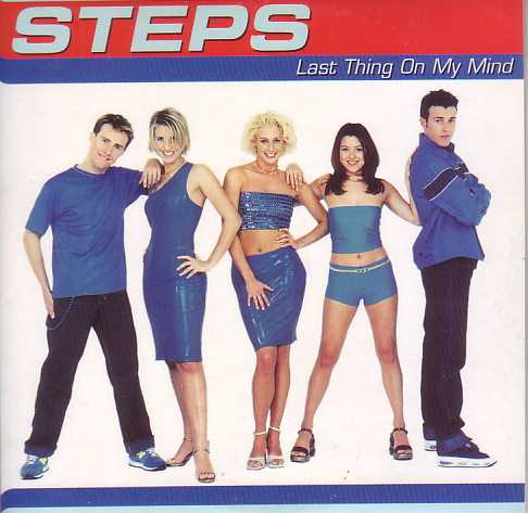 STEPS - Last Thing On My Mind Promo 1-track Card Sleeve