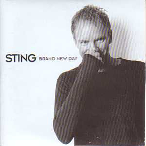 STING - Brand New Day 2-track Card Sleeve