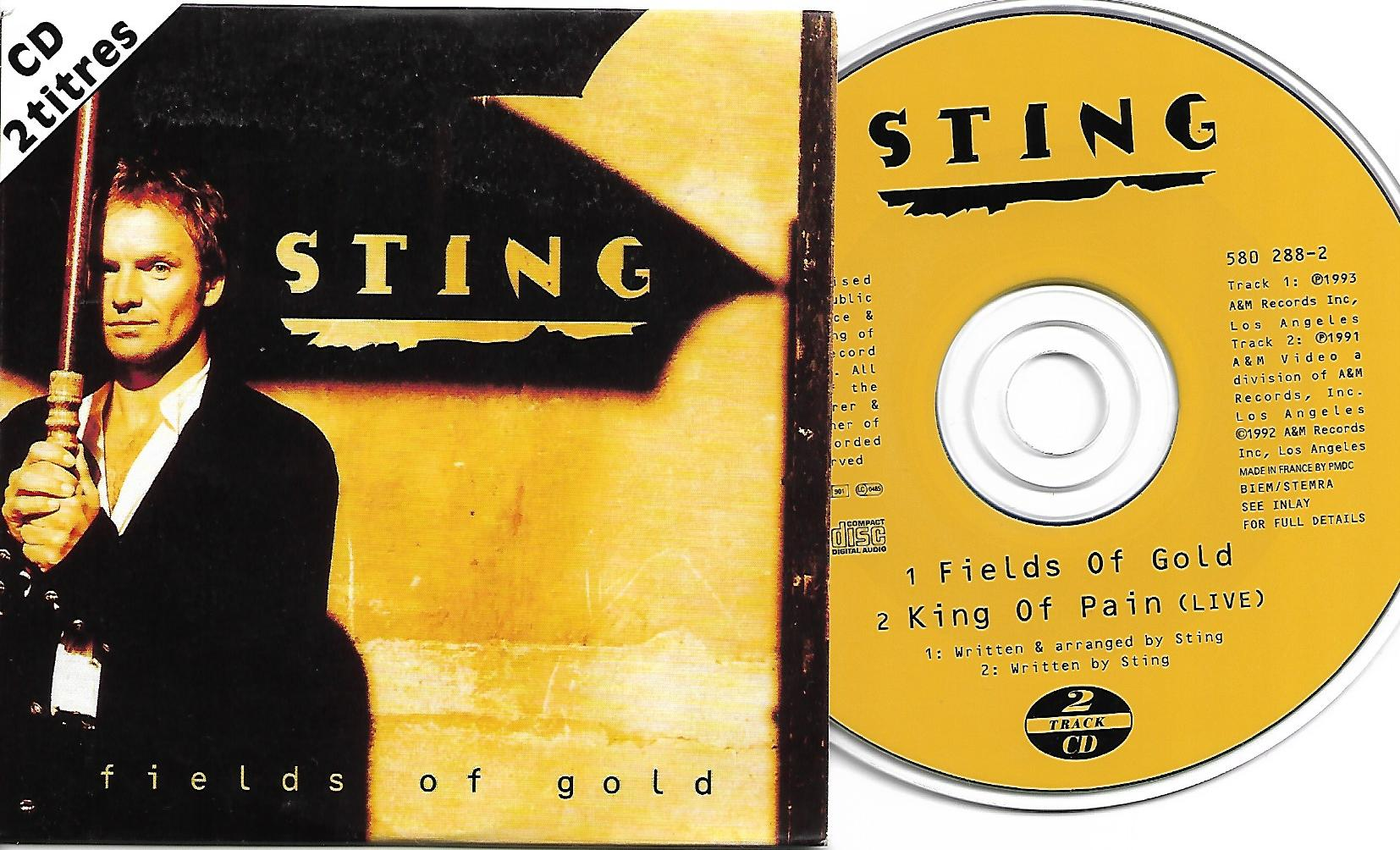 STING - Fields Of Gold Card Sleeve 2-track
