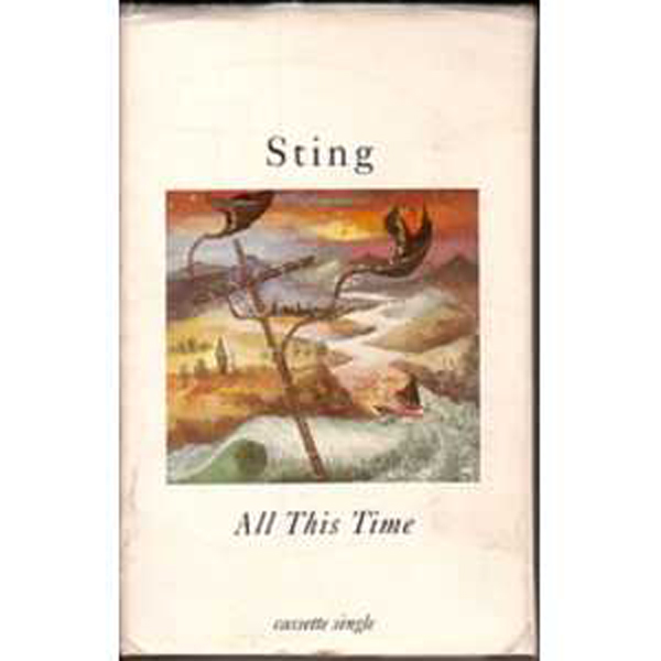 STING - All This Time - Us Cassette Single 2 Tracks -