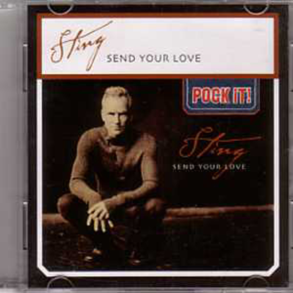 STING - Send Your Love 'pock It!' Ltd Ed 2-track 3""