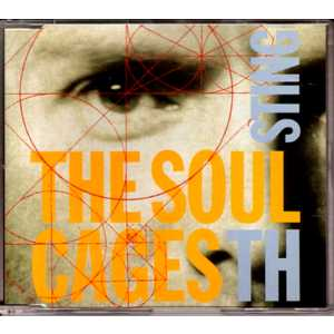 STING - The Soul Cages 4-track Jewel Case
