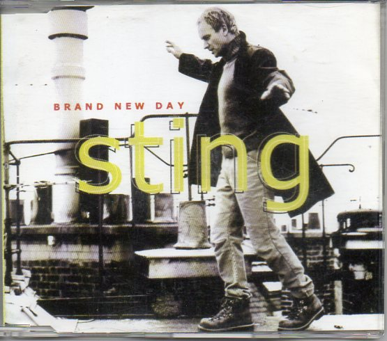 STING - Brand New Day Promo - Mexique - 1-track Jewel Case