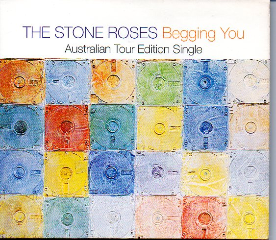 THE STONE ROSES - Begging You limited edition Australian tour edition 6-mix Digipack - MCD