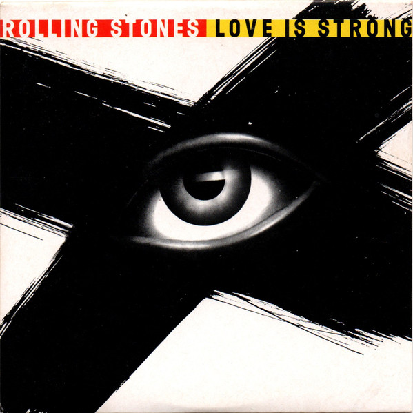 ROLLING STONES - Love Is Strong 2 Tracks Card Sleeve