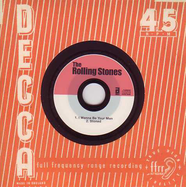 ROLLING STONES - I Wanna Be Your Man 2-track Card Sleeve