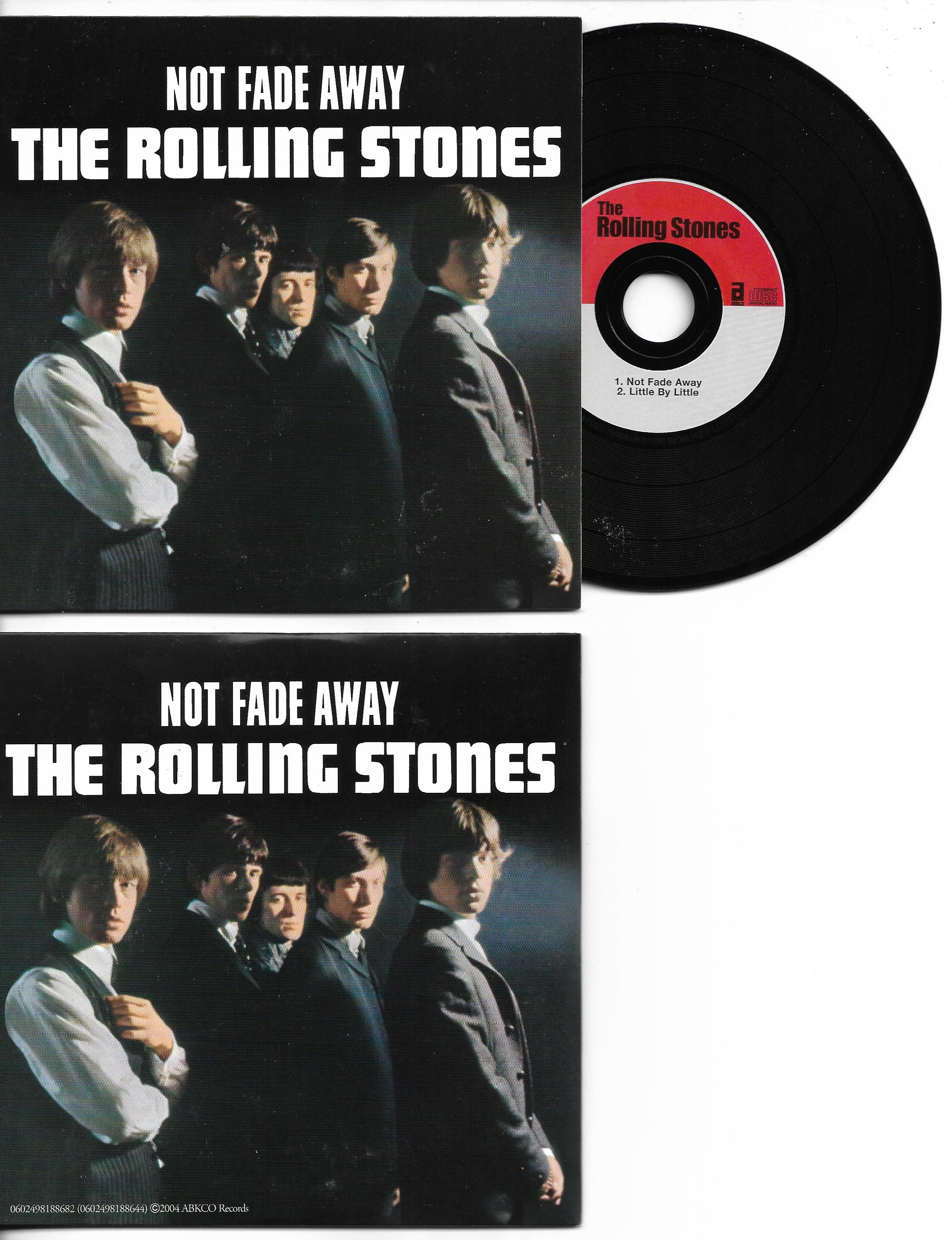 ROLLING STONES - Not Fade Away 2-track Card Sleeve