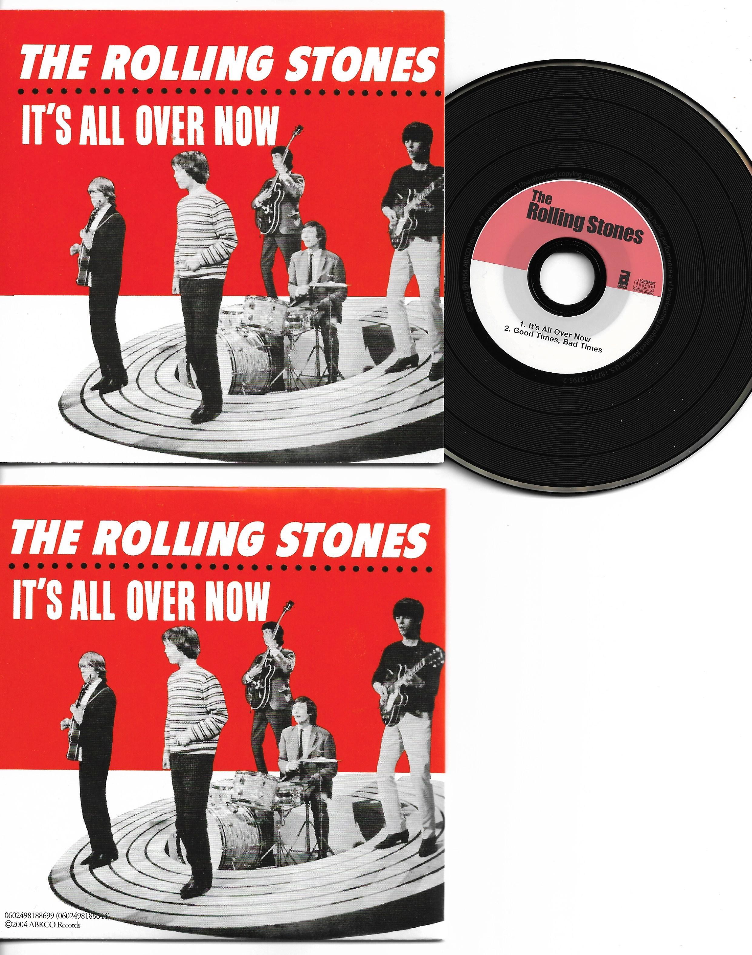 ROLLING STONES - It's All Over Now 2-track Card Sleeve