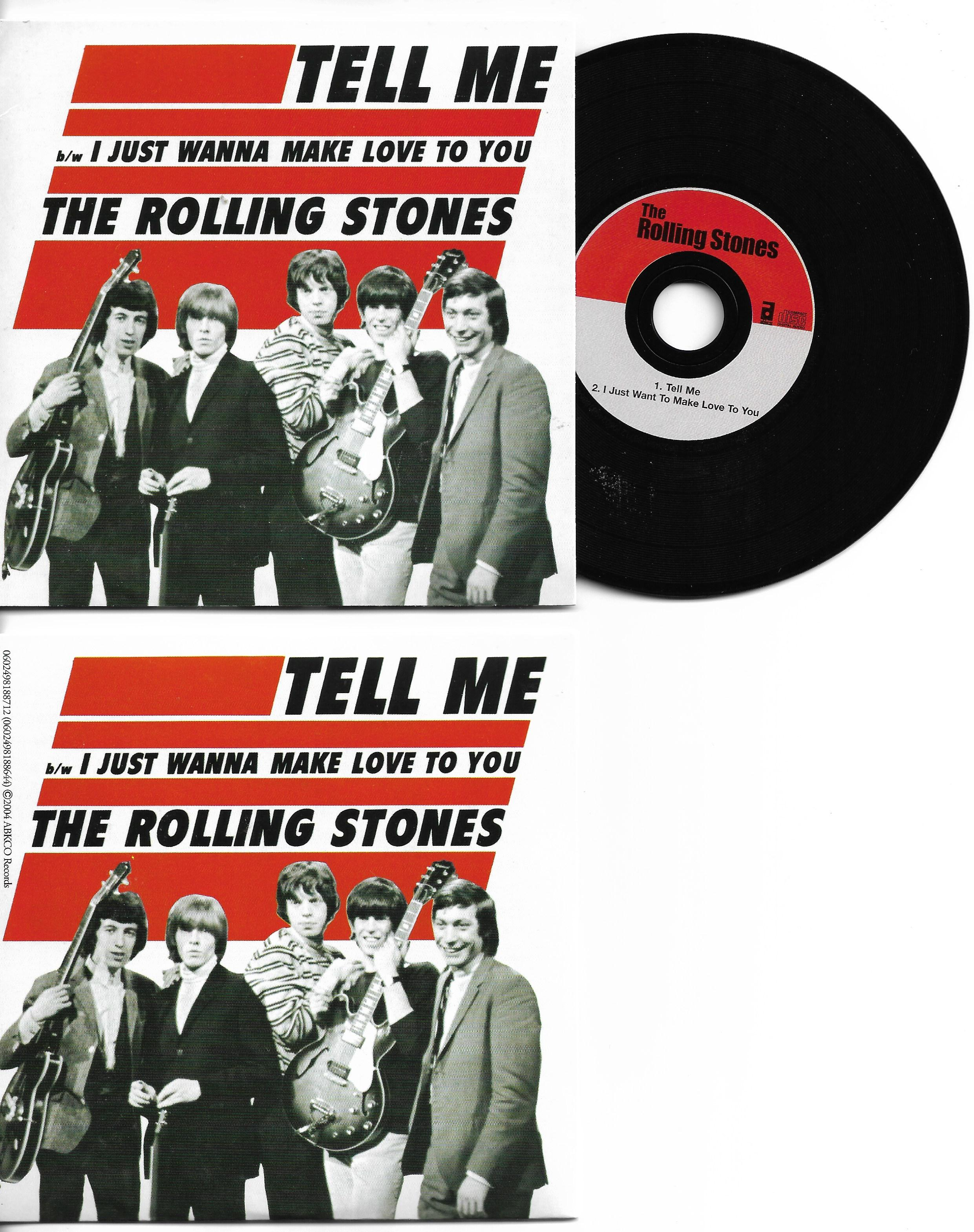 ROLLING STONES - Tell Me 2-track Card Sleeve