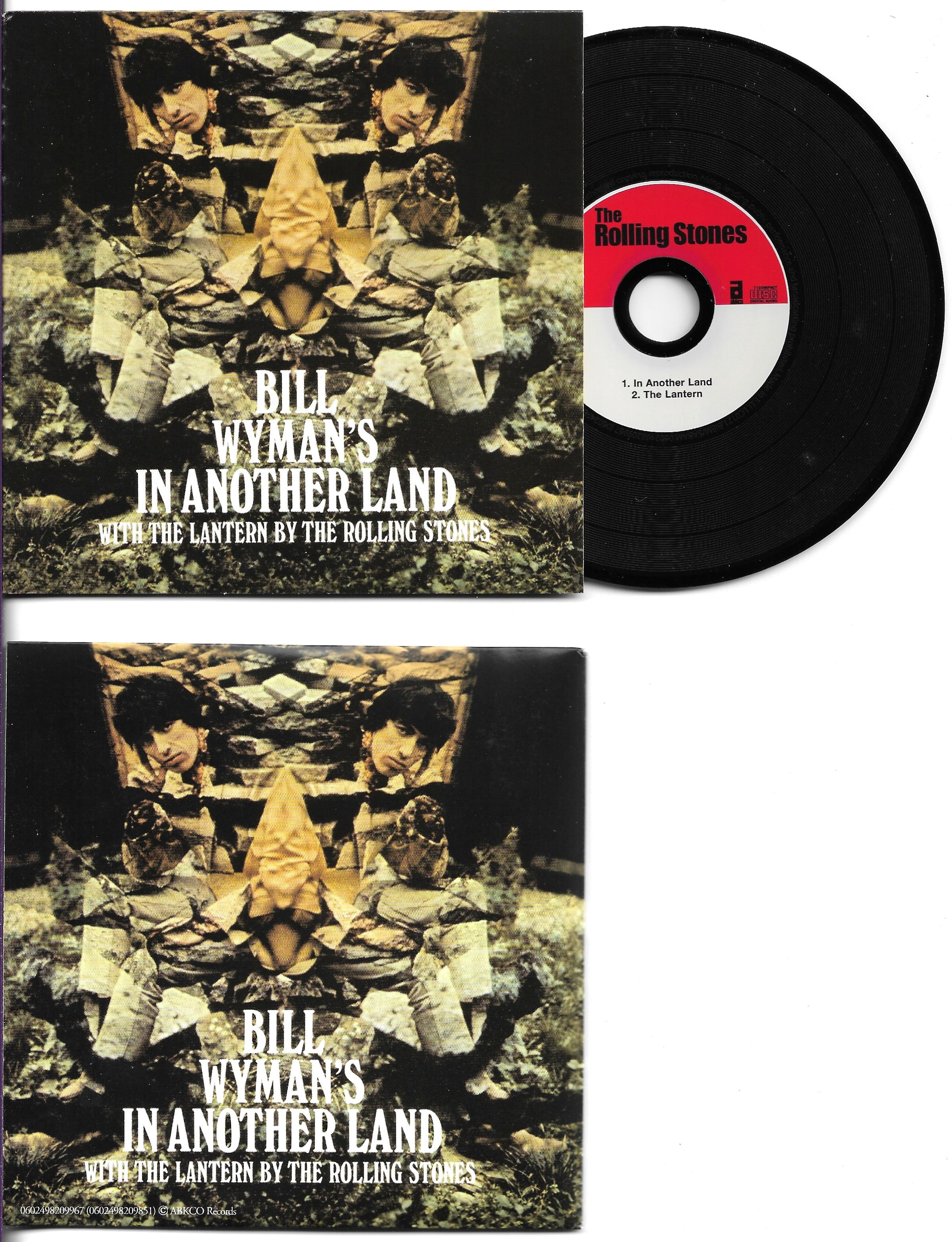 THE ROLLING STONES - BILL WYMAN - In another land 2-track CARD SLEEVE - CD single