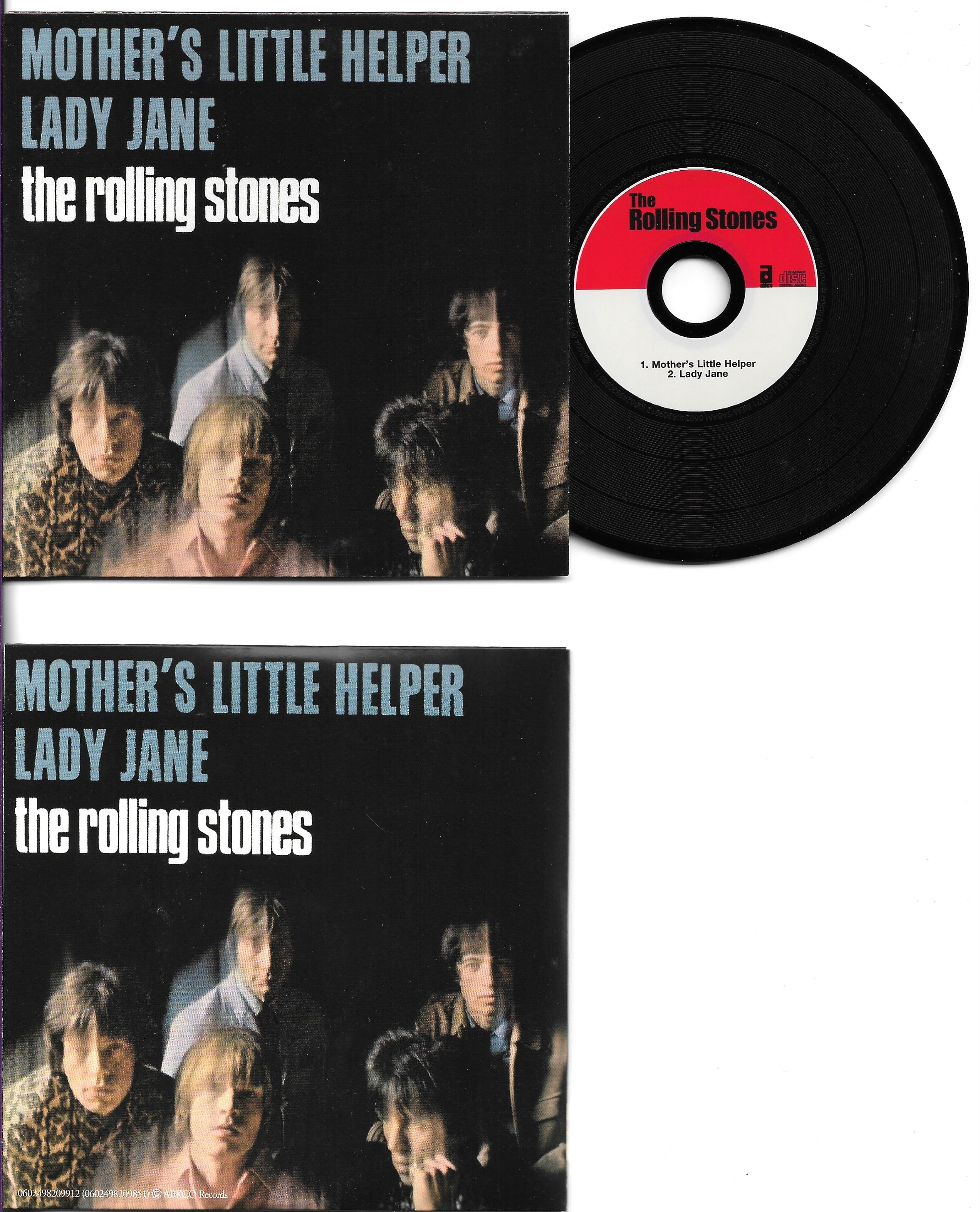 THE ROLLING STONES - Mother's little helper 2-track CARD SLEEVE - CD single