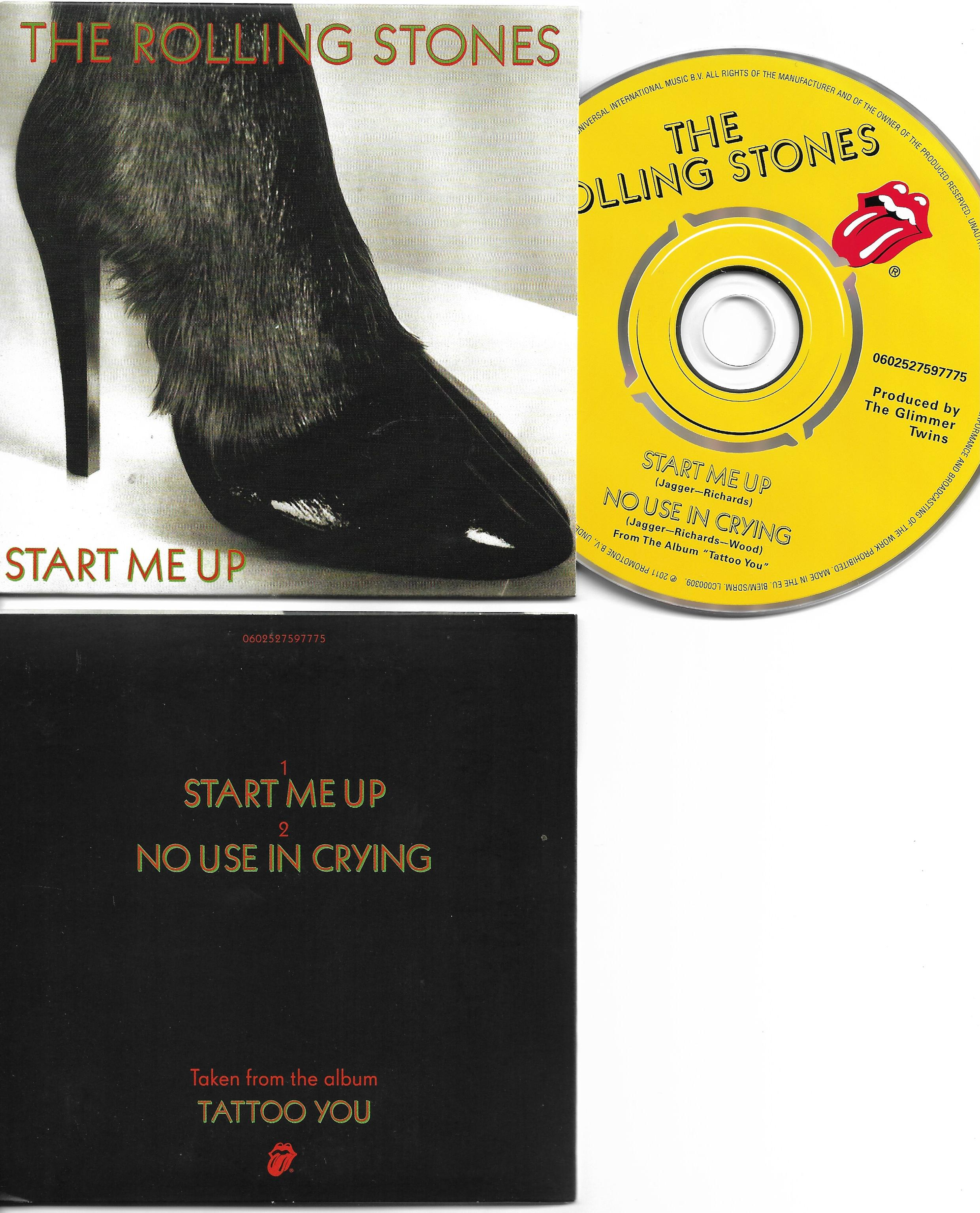 THE ROLLING STONES - Start me up 2-track CARD SLEEVE - CD single