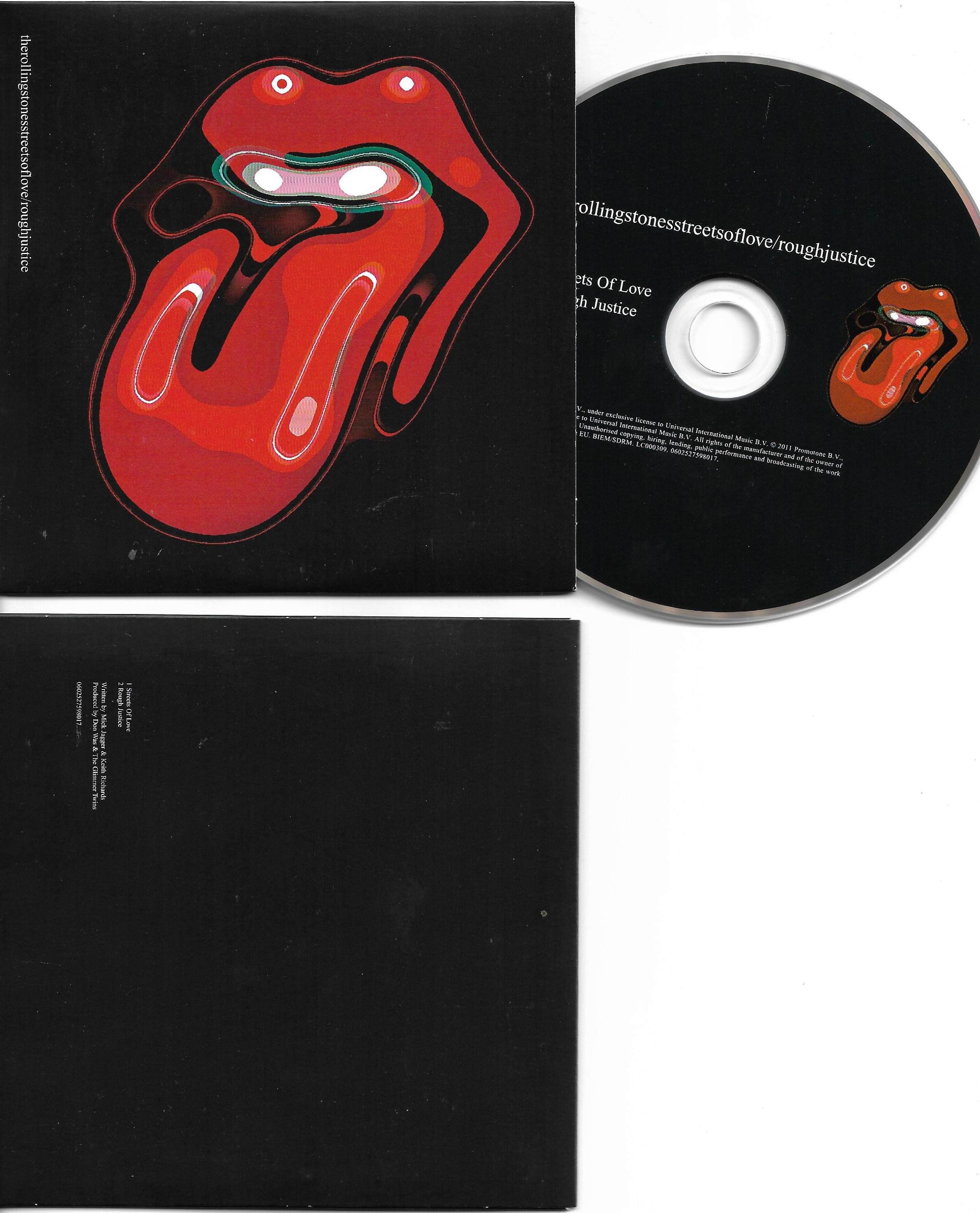 ROLLING STONES - Streets Of Love 2-track Card Sleeve