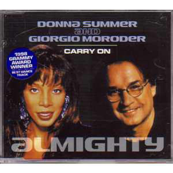 DONNA SUMMER - Carry on  CD1 6 remixes - CD Maxi