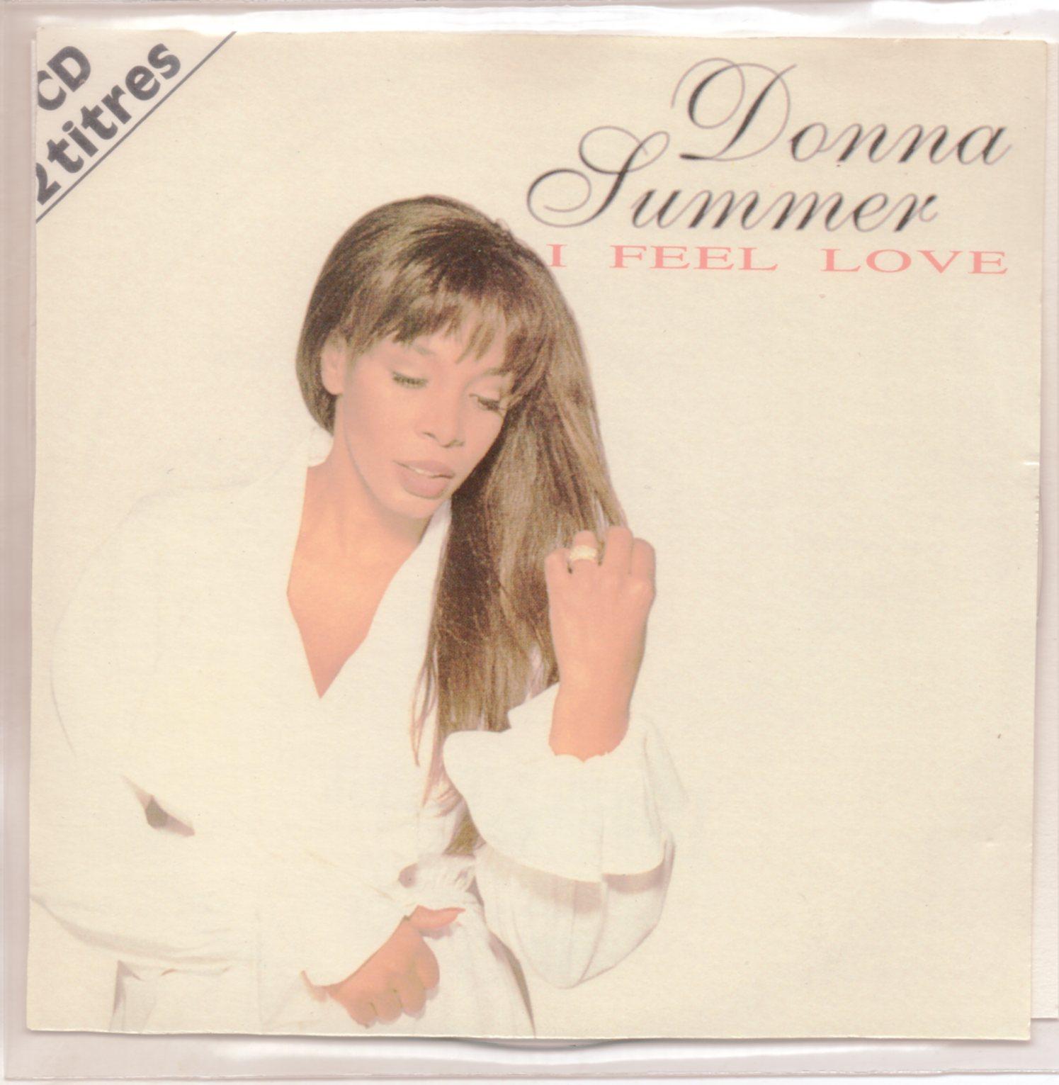 DONNA SUMMER - I feel love 2-Track CARD SLEEVE - CD single