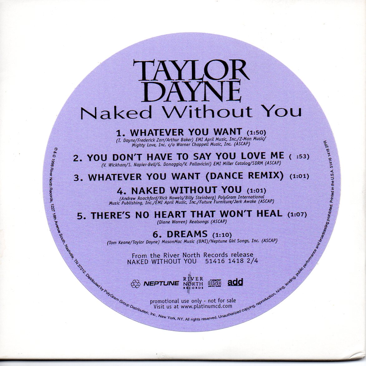 Naked Without You