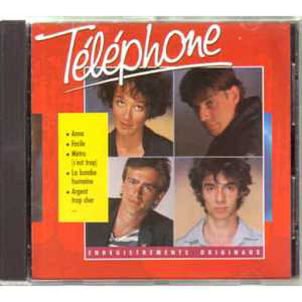 TELEPHONE - Anna ++ RARE 1986 ++ - CD