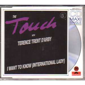 TERENCE TRENT D'ARBY - I want to know 4 Tracks jewel case - CD Maxi