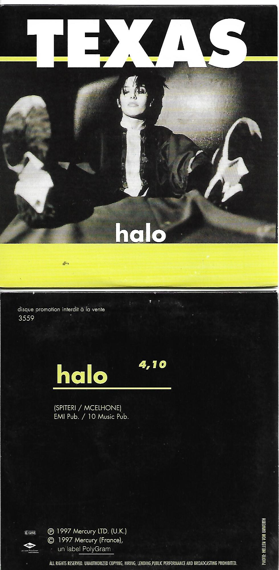 Halo French Promo Card Sleeve
