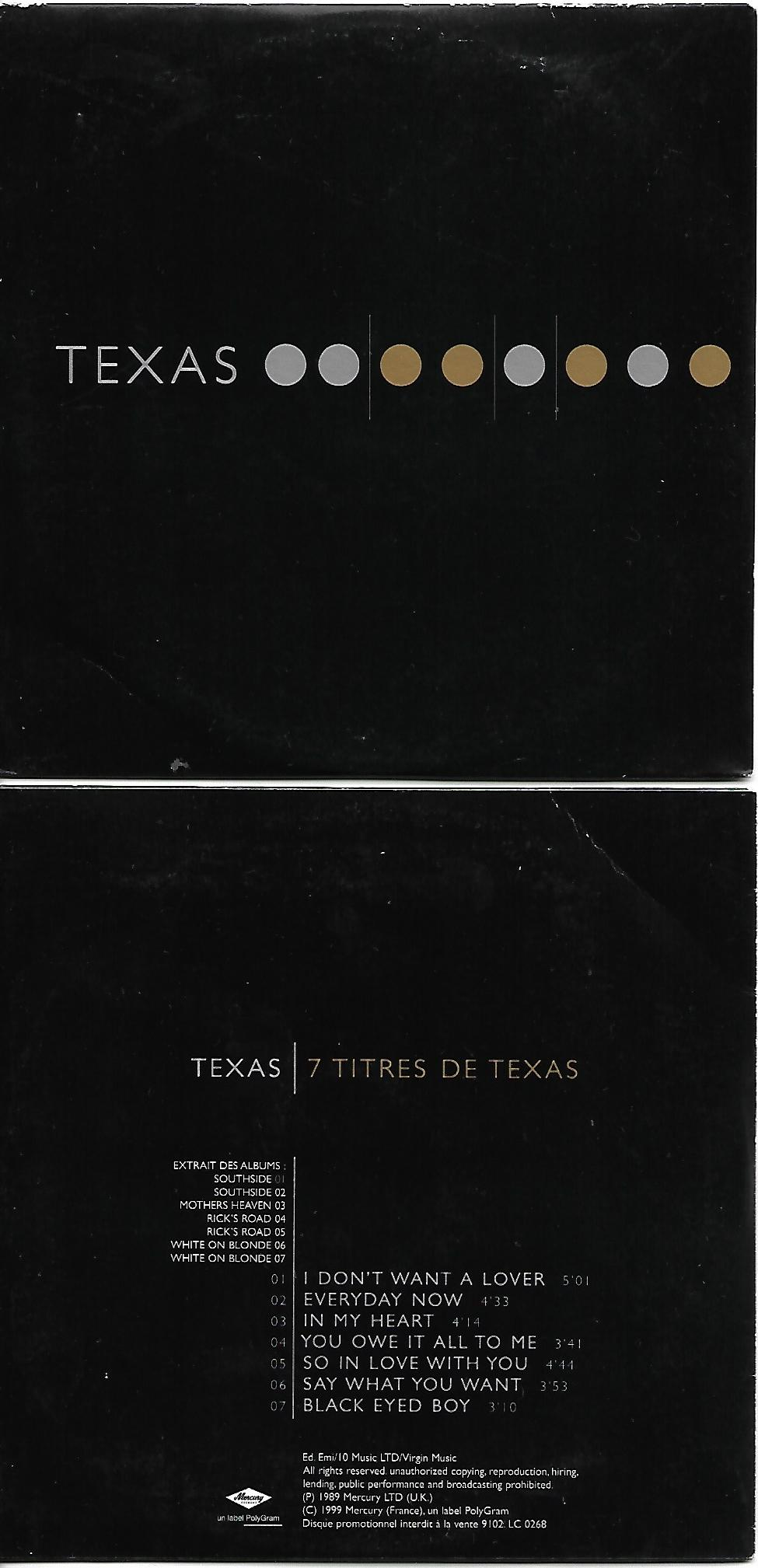 7 Titres De Texas Card Sleeve