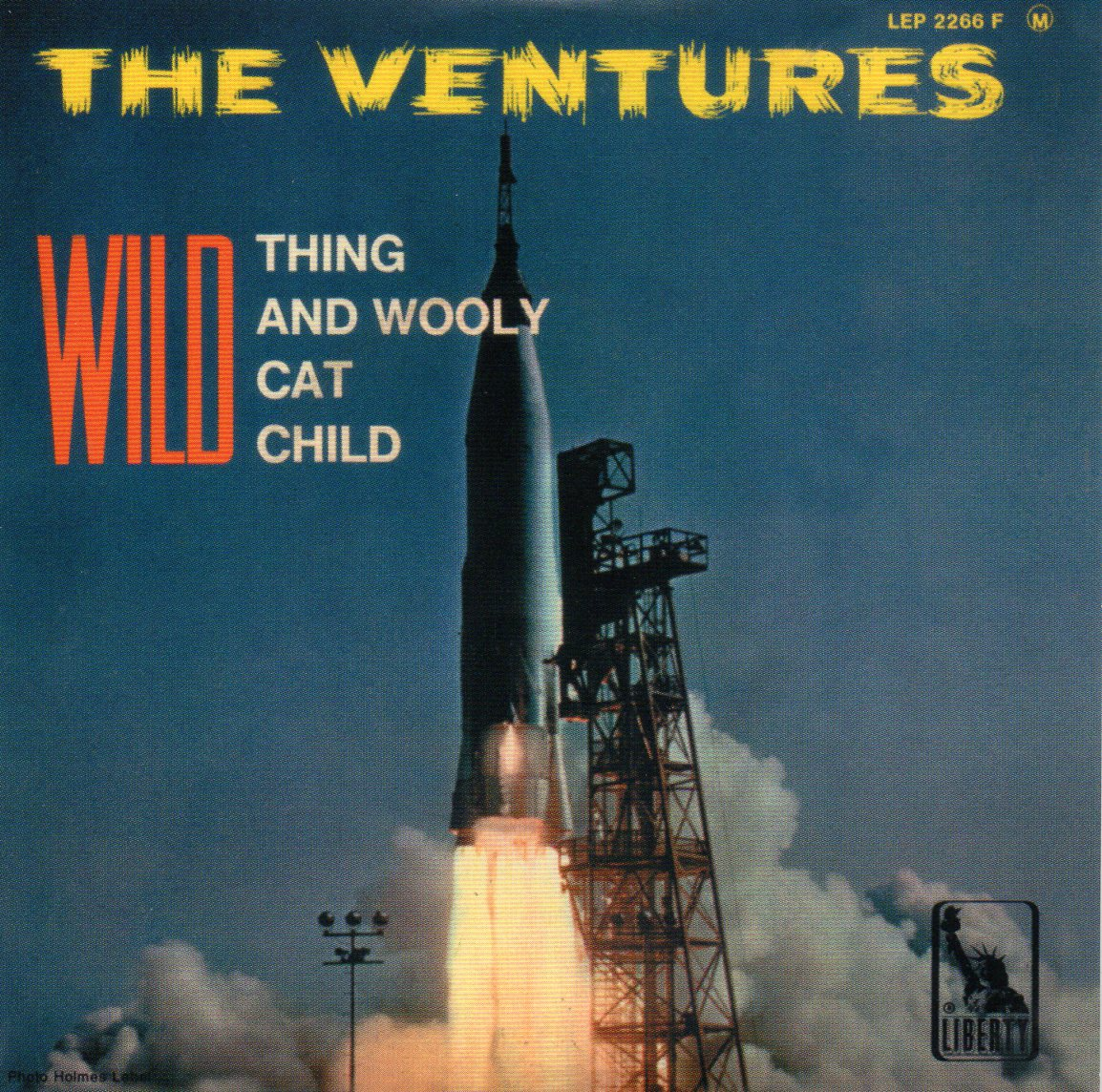 VENTURES - Wild Thing - Ep - 4-track Card Sleeve