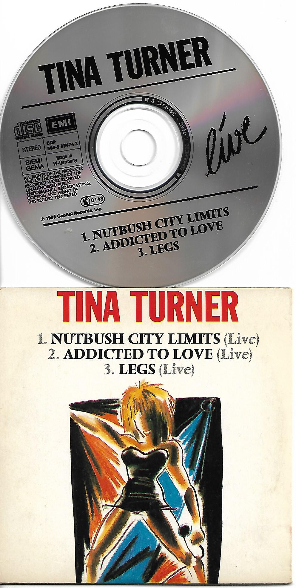 Tina TURNER - Nutbush City Limits Card Sleeve 3 Tracks
