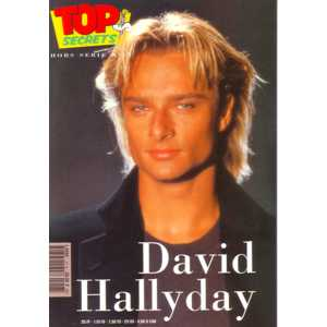 DAVID HALLYDAY - Top secret Hors serie - MCD