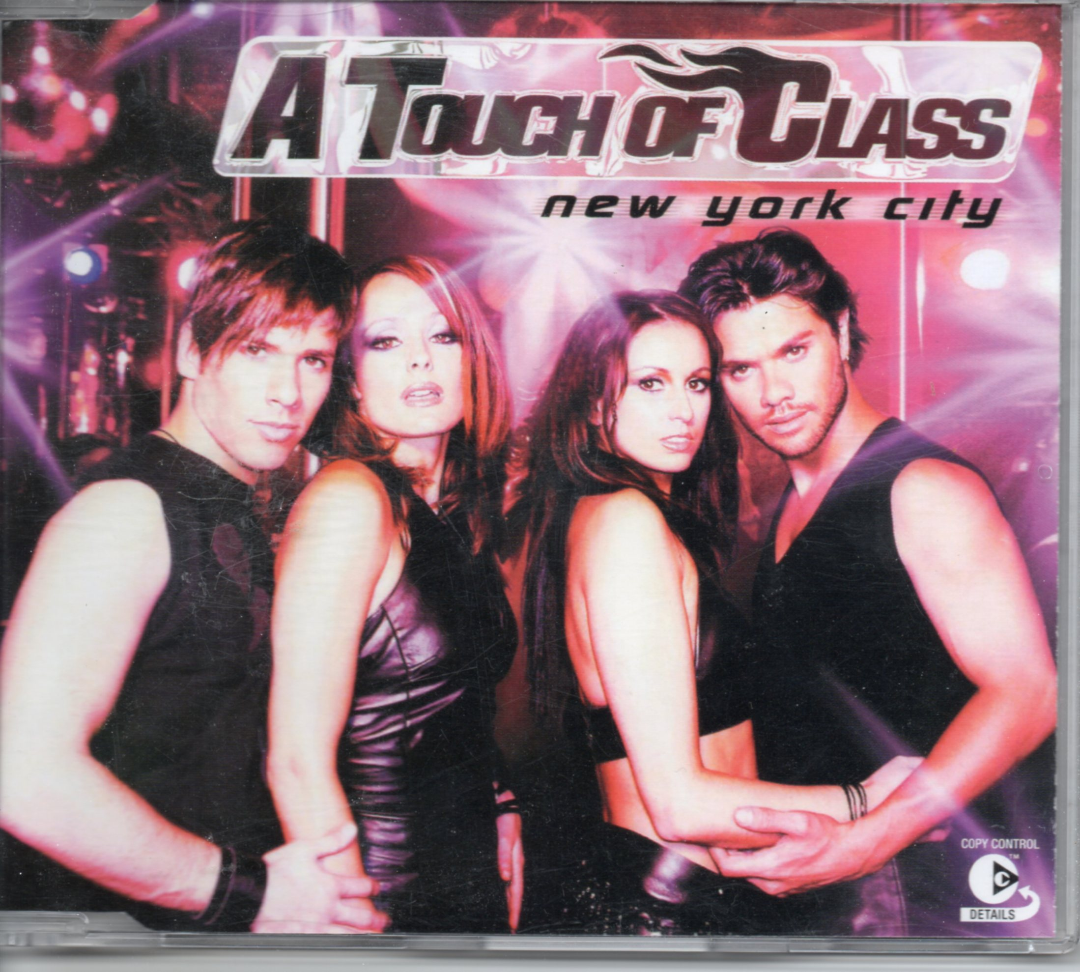 A TOUCH OF CLASS - New York City 5-Track jewel case - CD Maxi
