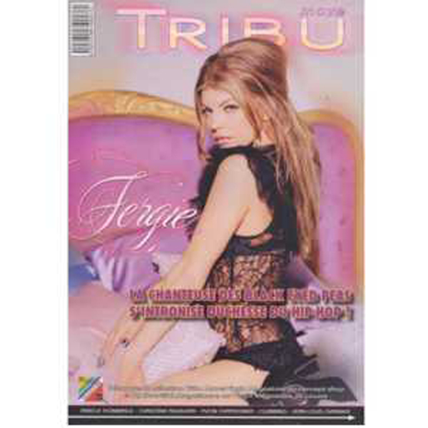 FERGIE / BLACK EYES PEA - Tribu move N° 92 : FERGIE Cover  + 4p - Magazine