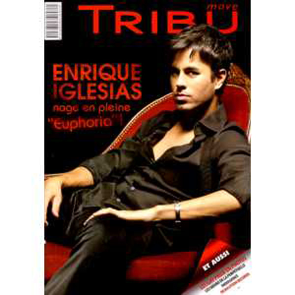 ENRIQUE IGLESIAS - Tribu move N° 137 - Magazine