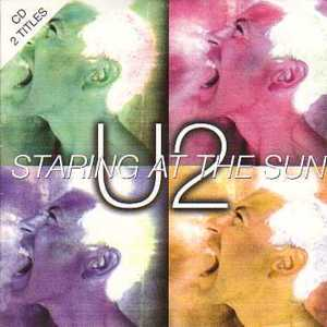 U2 - Staring At The Sun 2-track Card Sleeve